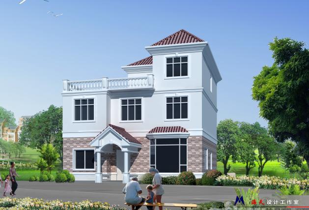 二层半小别墅 - 建方网